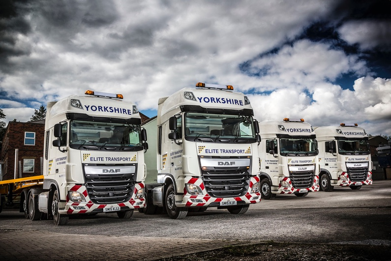 A selection of our modern, liveried fleet.